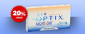 20% rabatt på Air Optix Night & Day