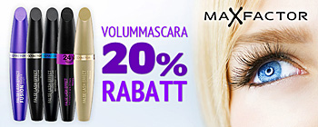 Max Factor False Lash Effects mascaraer - 20% rabatt!