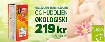 Udos Choice 500ml 219 kr (veil. 264 kr)!