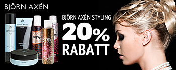 Bjrn Axn Styling - 20% rabatt!