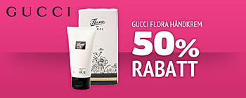 Gucci flora hndkrem - 50% rabatt