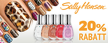 Sally Hansen - 20% rabatt!
