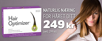 Hair Optimizer! Nå 249 kr (veil. 299 kr)