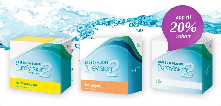 Purevision 2 - opp til 20% rabatt!