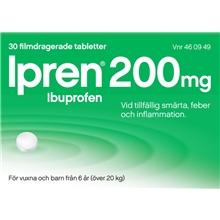 Ipren 200mg (Läkemedel) 30 tabletter