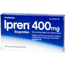 Ipren 400mg (Läkemedel) 10 tabletter