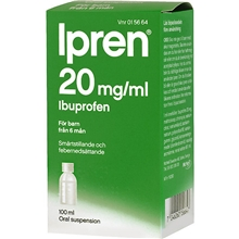 Ipren Oral suspension (Läkemedel) 100 ml