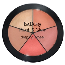 IsaDora Blush & Glow Draping Wheel 18 gram No. 057