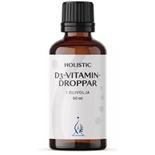 D3-vitamin droppar i olivolja 50 ml