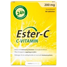 Ester-C 200 90 tabletter