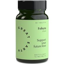 Great Earth Folic Acid 60 tabletter