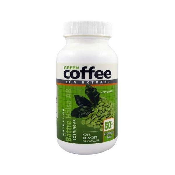 Green Coffee slankepiller bivirkninger Grønn kaffe svetol
