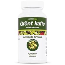 Umiddelbar grønn kaffe Grønn kaffe bringebær keton