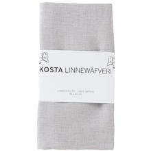 Kosta Linnewäfveri Linneservett Ljusgrå