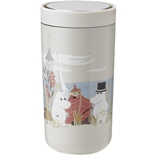 Stelton Moomin To Go Click 0,2 L 0.2 liter Soft sand