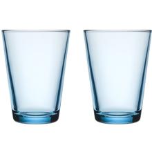 Kartio Allglas 40 cl 2-Pack 1 set Ljusblå