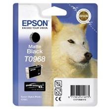 Epson T0968 MATTE BLACK CARTRIDGE - C13T09684010