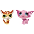 Littlest Pet Shop Talented Pets - Ekorn & Elefant