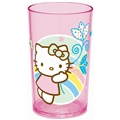 Hello Kitty Glass Rosa Regnbue