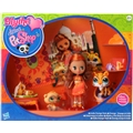 Blythe & Littlest Pet Shop India Orange Style
