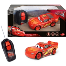 Disney Cars Radiostyrt Lightning McQueen Single