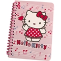 Hello Kitty Music Mini Spiralhefte