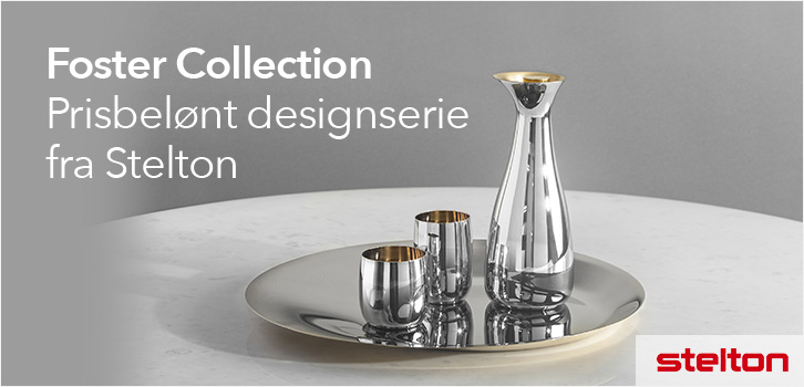 Kampanje på hele Foster Collection fra Stelton!