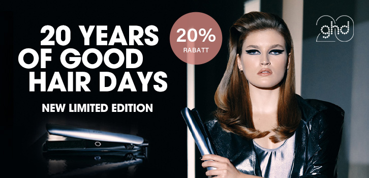 ghd 20 years - 20% rabatt