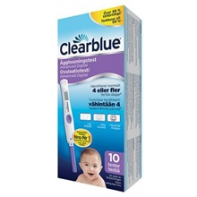 Clearblue Advanced Ägglossningstest 10st