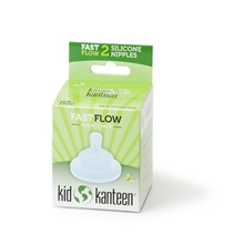 Kid Kanteen Baby Nipple Fast Flow