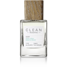 Clean Reserve Warm Cotton Reserve Blend - Edp