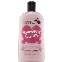 Strawberry Cream Evolution Bath & Shower Crème