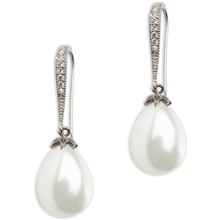 PEARLS FOR GIRLS Queeny Earring White