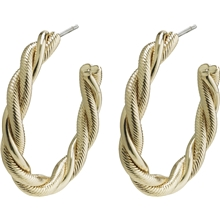 26202-2063 Baya Twisted Creole Earrings