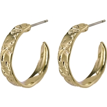 14204-2013 Compassion Creole Earrings Gold Plated