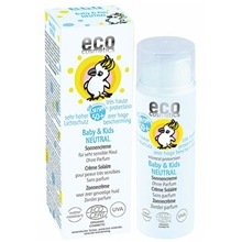 eco cosmetics solkräm baby neutral spf 50
