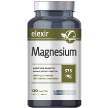 Magnesium 375 mg 120 tabletter