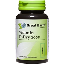 Vitamin D 2000 IE 150 tabletter