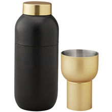 Stelton Collar cocktail shaker inkl måleglass