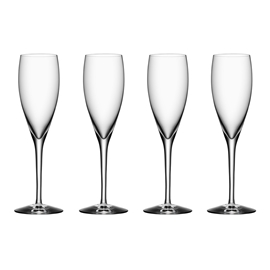 More Champagneglass 4-pack