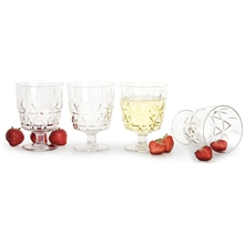 Nautic Picnic glass 4-pack