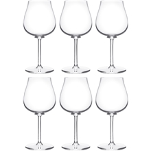 Paris bouquet Hvitvinsglass 6-pack
