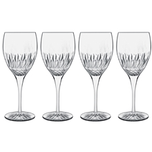 Diamante rødvinsglass 4-pack