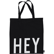 Design Letters Tote Bag Hey