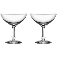 Symbols Butterfly Champagne Coupe 2-pakning