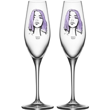Champagneglass All About You 2-pack