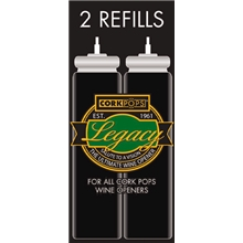Legacy Refill-patron 2-pack