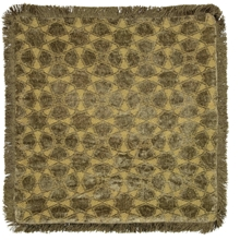 Day Mahal Chenille fringes Putefutteral - Moss
