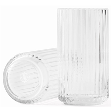 Lyngbyvasen Glass Clear Transparent 15 cm