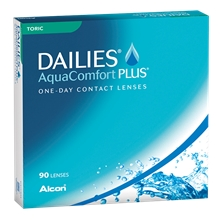 DAILIES AquaComfort Plus Toric 90p